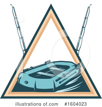 Raft Clipart #1604023 by Vector Tradition SM