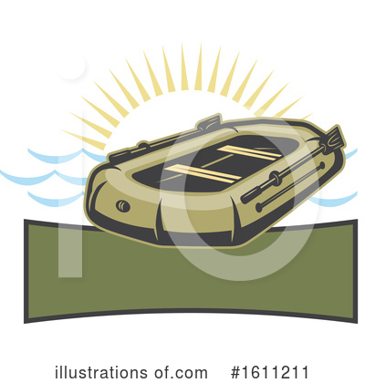 Raft Clipart #1611211 by Vector Tradition SM