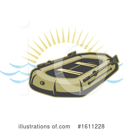 Raft Clipart #1611228 by Vector Tradition SM