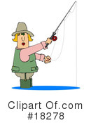 Royalty-Free (RF) Fishing Clipart Illustration #18278