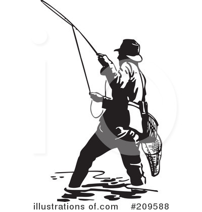 Fishing Clipart #209588 by BestVector