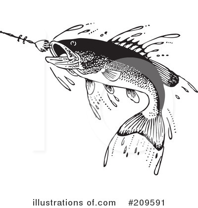 Fishing Clipart #209591 by BestVector