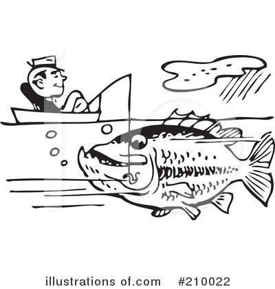Fishing Clipart #210022 by BestVector