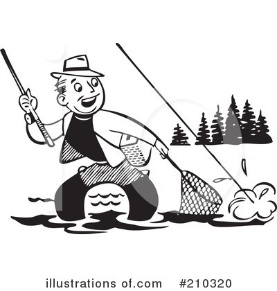 Fishing Clipart #210320 by BestVector