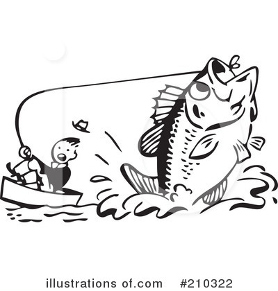 Fishing Clipart #210322 by BestVector