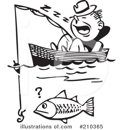 Fishing Clipart #210365 by BestVector