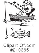 Royalty-Free (RF) Fishing Clipart Illustration #210365