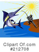 Royalty-Free (RF) Fishing Clipart Illustration #212708