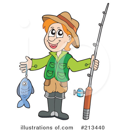 Fishing Clipart #213440 by visekart