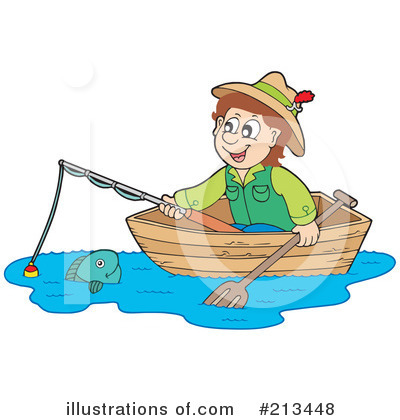Fishing Clipart #213448 by visekart