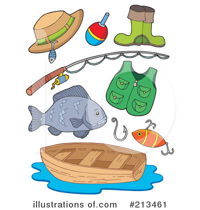 Fishing Clipart #213461 by visekart