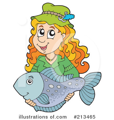 Fishing Clipart #213465 by visekart