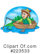 Fishing Clipart #223533 by visekart