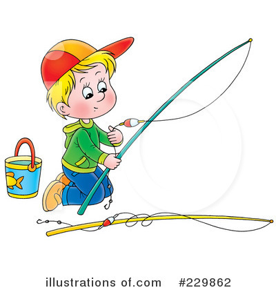 Fishing Clipart #229862 by Alex Bannykh