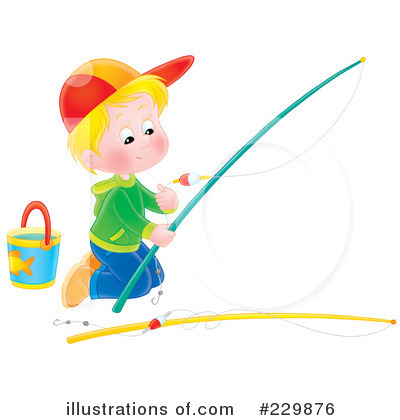 Fishing Clipart #229876 by Alex Bannykh