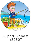Royalty-Free (RF) Fishing Clipart Illustration #32807