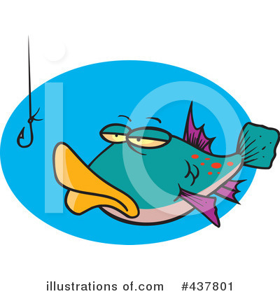 Fish Clipart #437801 by toonaday