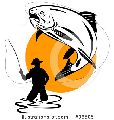 Fisherman Clipart #96505 by patrimonio
