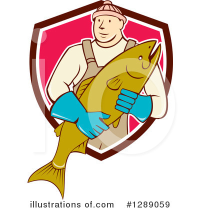 Fish Clipart #1289059 by patrimonio