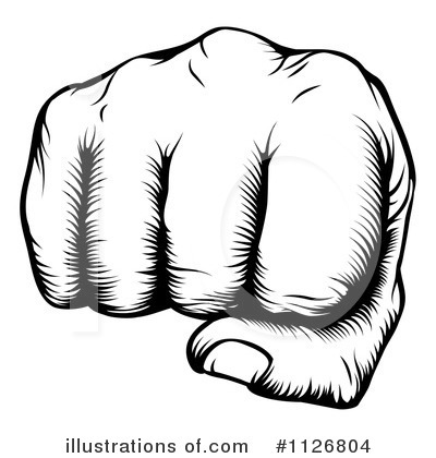 Fist Clipart #1126804 by AtStockIllustration