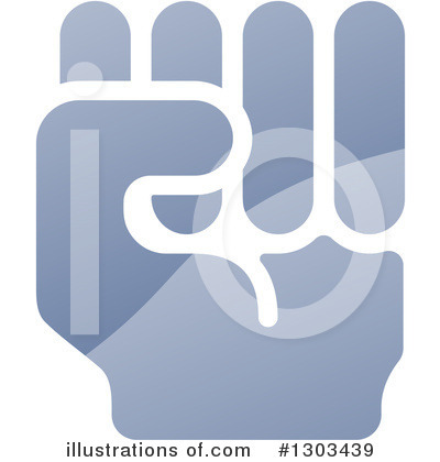 Fist Clipart #1303439 by AtStockIllustration