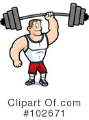 Royalty-Free (RF) Fitness Clipart Illustration #102671
