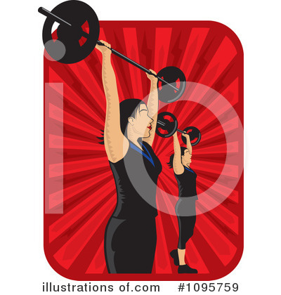 Fitness Clipart #1095759 by David Rey