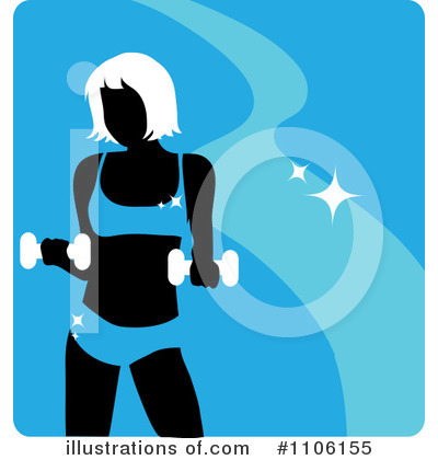 Royalty-Free (RF) Fitness Clipart Illustration by Rosie Piter - Stock Sample #1106155