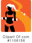 Fitness Clipart #1106156 by Rosie Piter