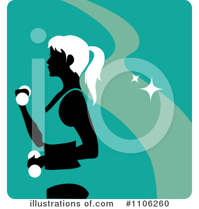Royalty-Free (RF) Fitness Clipart Illustration by Rosie Piter - Stock Sample #1106260