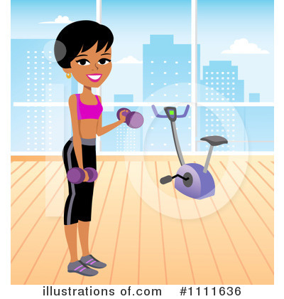 Spin Bike Clipart #1111636 by Monica
