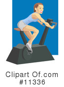 Fitness Clipart #11336 by AtStockIllustration