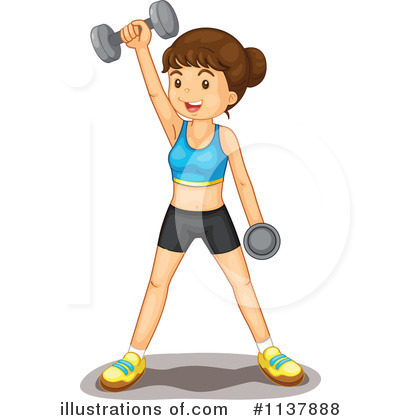 Exercise Clipart #1137888 by Graphics RF