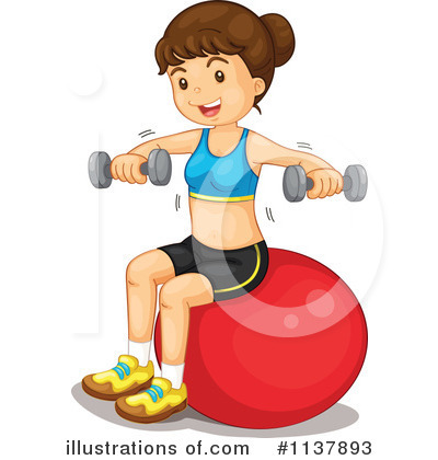Exercise Clipart #1137893 by Graphics RF
