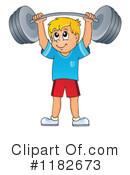 Fitness Clipart #1182673 by visekart