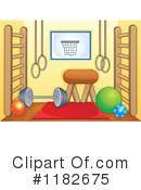 Royalty-Free (RF) Fitness Clipart Illustration #1182675