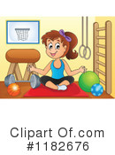 Fitness Clipart #1182676 by visekart