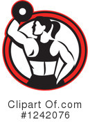 Royalty-Free (RF) Fitness Clipart Illustration #1242076