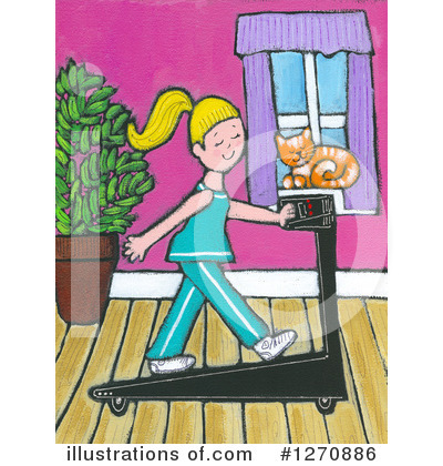 Royalty-Free (RF) Fitness Clipart Illustration by Maria Bell - Stock Sample #1270886