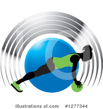 Fitness Clipart #1277344 by Lal Perera