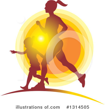 Royalty-Free (RF) Fitness Clipart Illustration by Lal Perera - Stock Sample #1314505