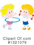Fitness Clipart #1321079 by Alex Bannykh