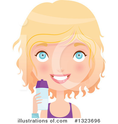 Fitness Clipart #1323696 by Melisende Vector