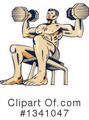 Fitness Clipart #1341047 by patrimonio