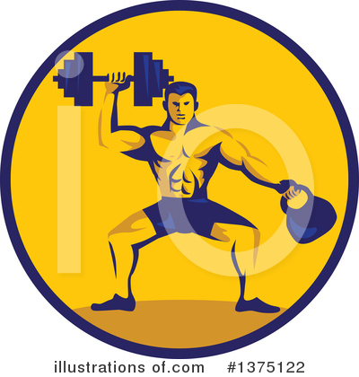 Royalty-Free (RF) Fitness Clipart Illustration by patrimonio - Stock Sample #1375122
