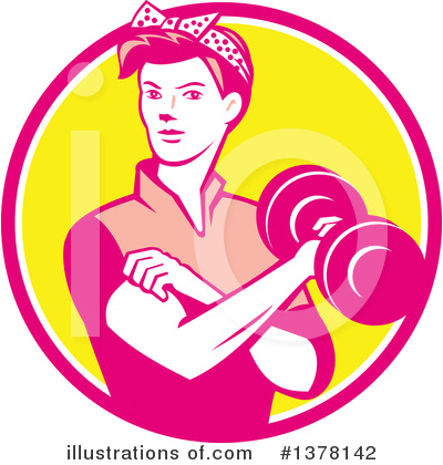 Rosie The Riveter Clipart #1378142 by patrimonio