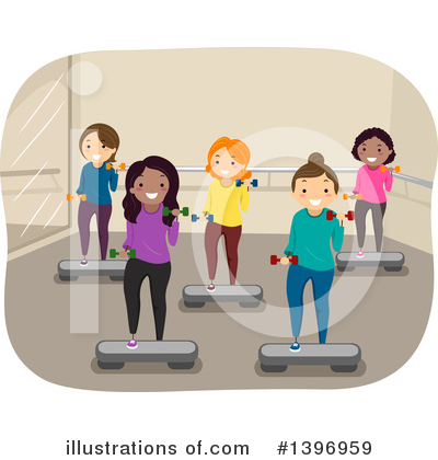Royalty-Free (RF) Fitness Clipart Illustration by BNP Design Studio - Stock Sample #1396959