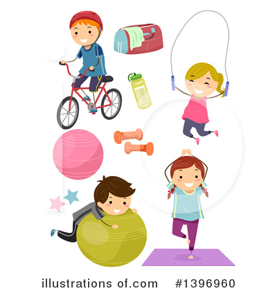 Jump Rope Clipart #1396960 by BNP Design Studio