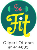 Fitness Clipart #1414035 by BNP Design Studio