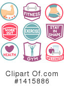 Fitness Clipart #1415886 by BNP Design Studio